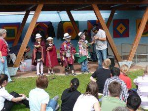 Canto Sur Auftritt mit Kindern